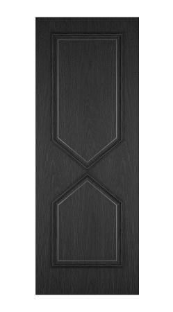 MOD-432 Vertical Direction grain Black stained Oak-1