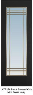 LATT 256 - Black & Brass Lattice BLOG