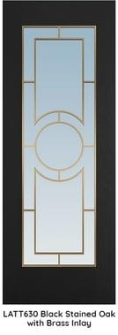 LATT 630 - Black & Brass Lattice BLOG