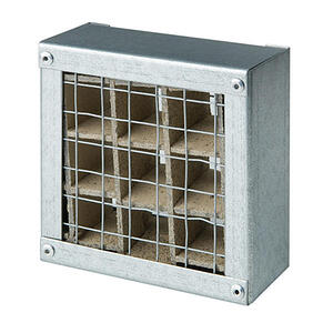 Intumescent-fire-grille