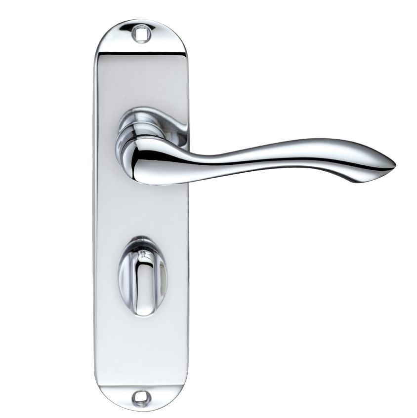 handle on backplate and lock 786012