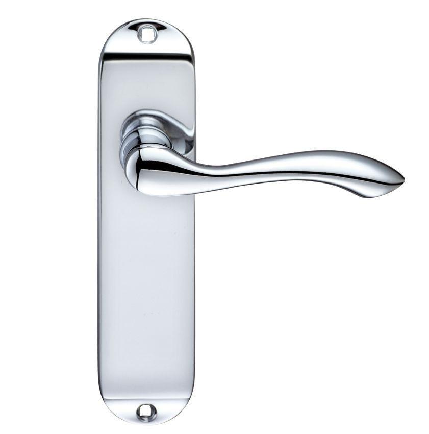 Door handle on backplate 842946